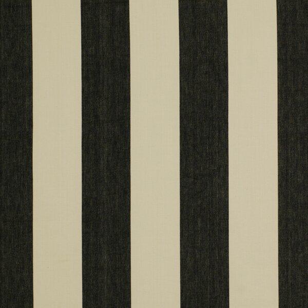 DwellStudio Oversize Stripe Fabric - Jet