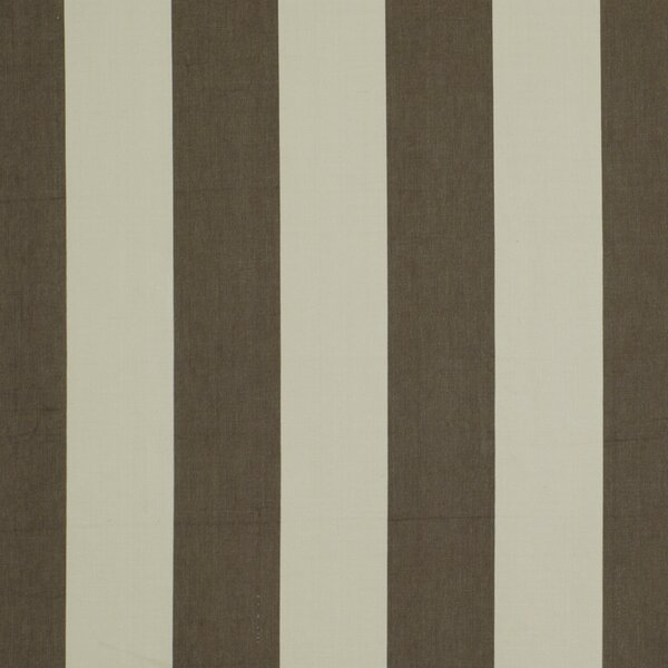 DwellStudio Oversize Stripe Fabric - Charcoal