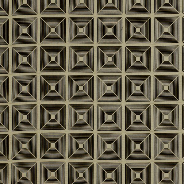 DwellStudio Pyramid Fabric - Jet