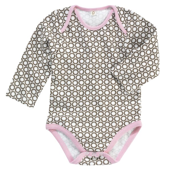 DwellStudio Starburst Long Sleeve Bodysuit