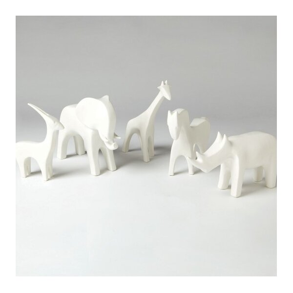 DwellStudio Giraffe White Figurine