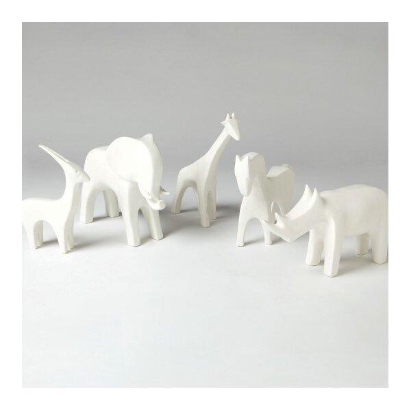 DwellStudio Giraffe White Objet