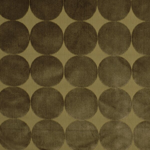 DwellStudio Plush Dotscape Fabric - Brindle