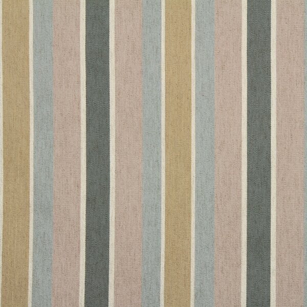 DwellStudio Shifted Stripe Fabric - Blush