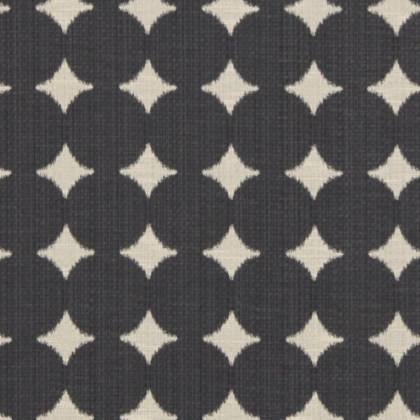 DwellStudio Ikat Dot Fabric - Black