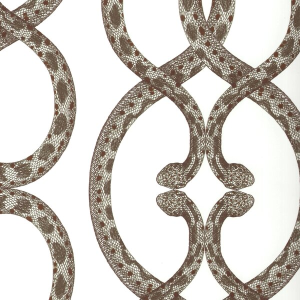 DwellStudio Snake Chain Dove Wallpaper