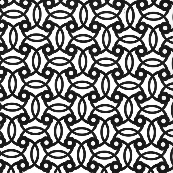 DwellStudio Knotted Trellis Ink Wallpaper