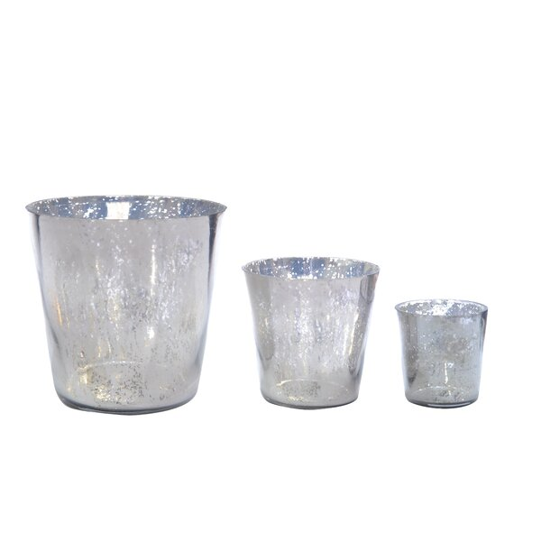 DwellStudio Smoked Glass Votive