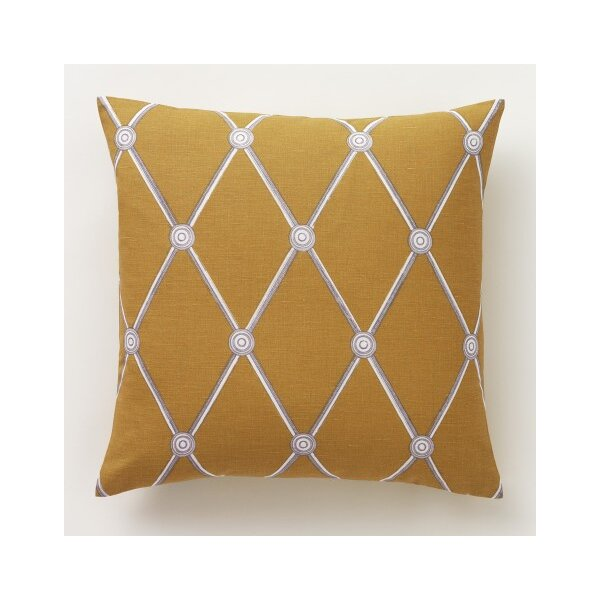 DwellStudio Hadley Mustard Pillow Cover