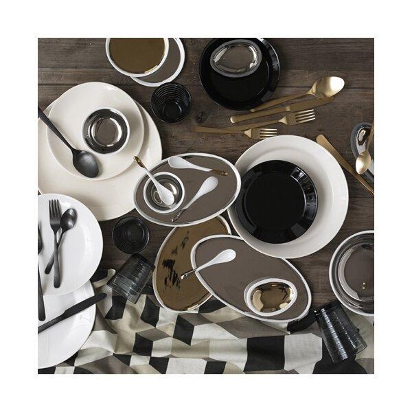 DwellStudio Marais Gold Glazed Oval Platter