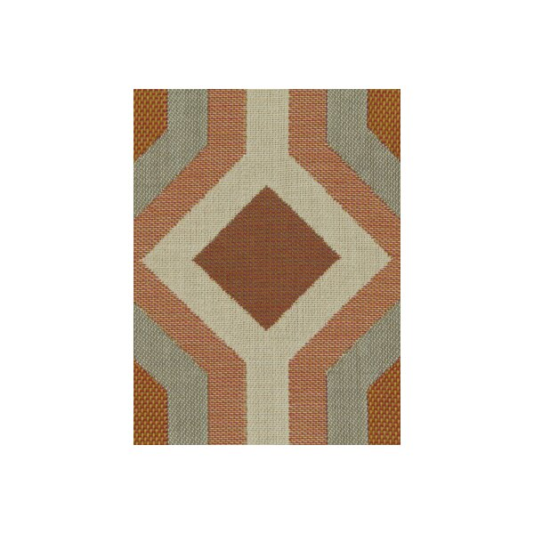 DwellStudio Diamond Vista Fabric - Tangerine