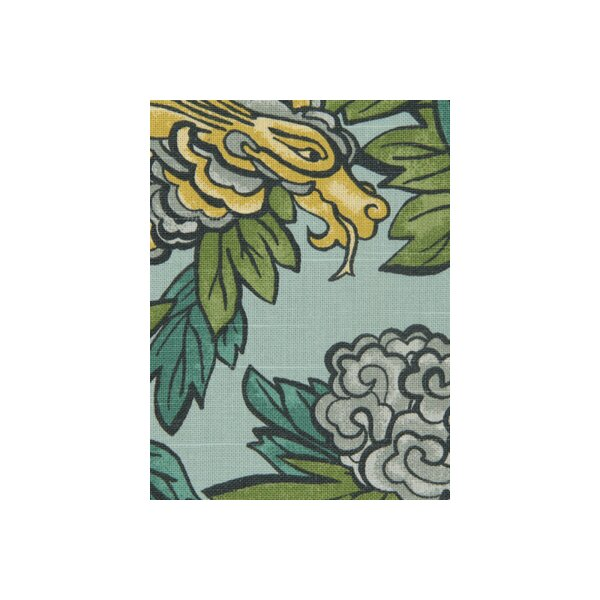 DwellStudio Ming Dragon Fabric - Aquatint