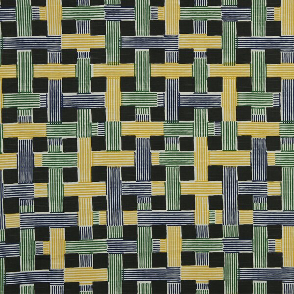 DwellStudio Illusion Weave Fabric - Ultramarine