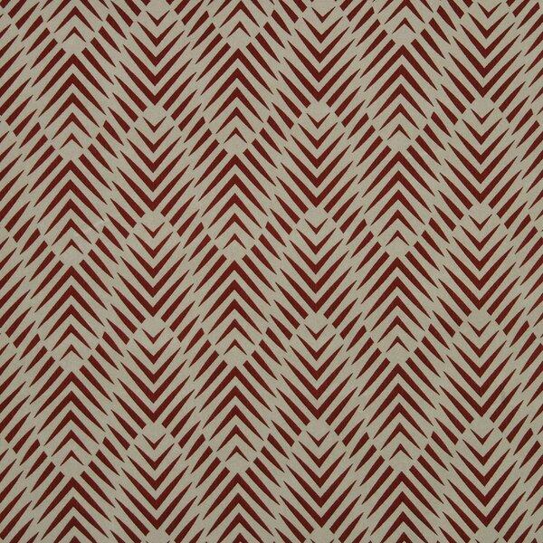 DwellStudio Zebra Geo Fabric - Currant