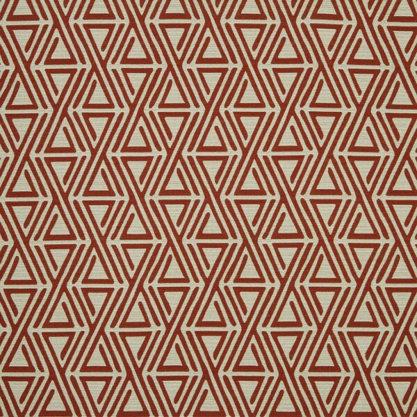 DwellStudio Triangle Maze Fabric - Currant