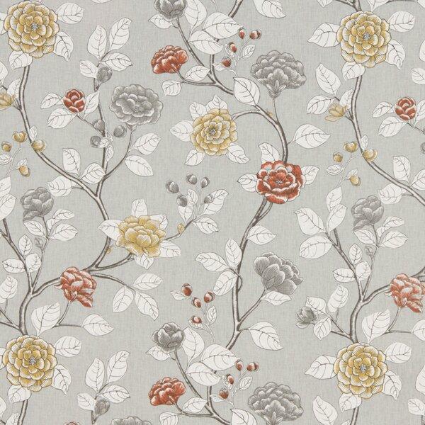 DwellStudio Leda Peony Fabric - Dove