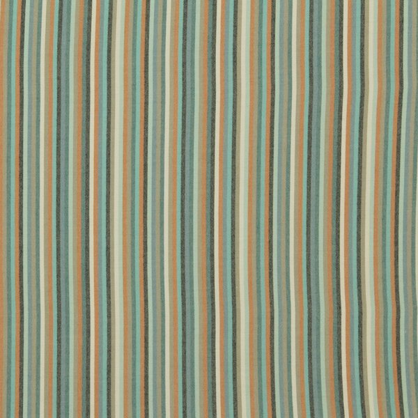 DwellStudio Striped Affair Fabric - Turquoise