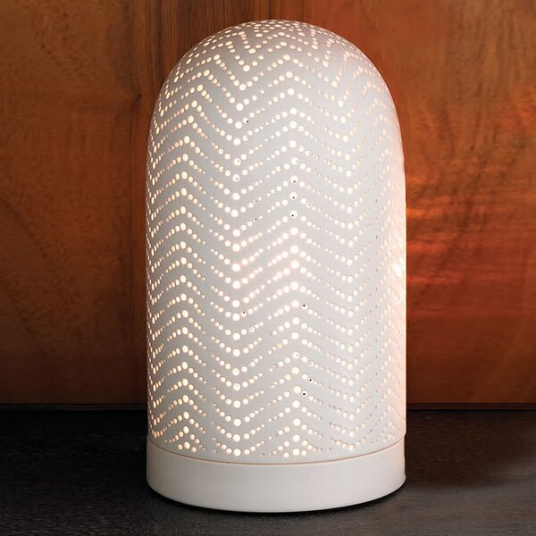 "DwellStudio Large Dome Ceramic 13"" H Table Lamp"