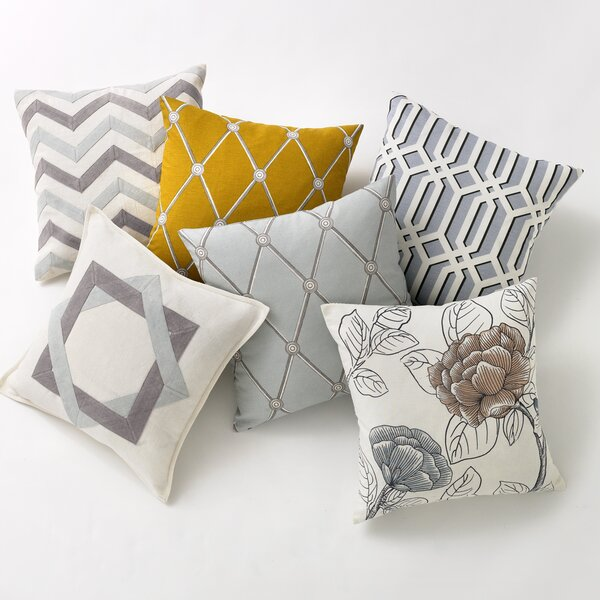DwellStudio Hadley Mist Pillow Cover