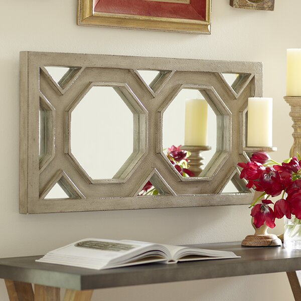 Birch Lane Hexa Wall Mirror