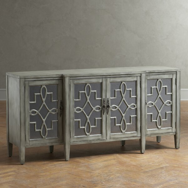 Birch Lane Hurley Mirrored Credenza Birch Lane