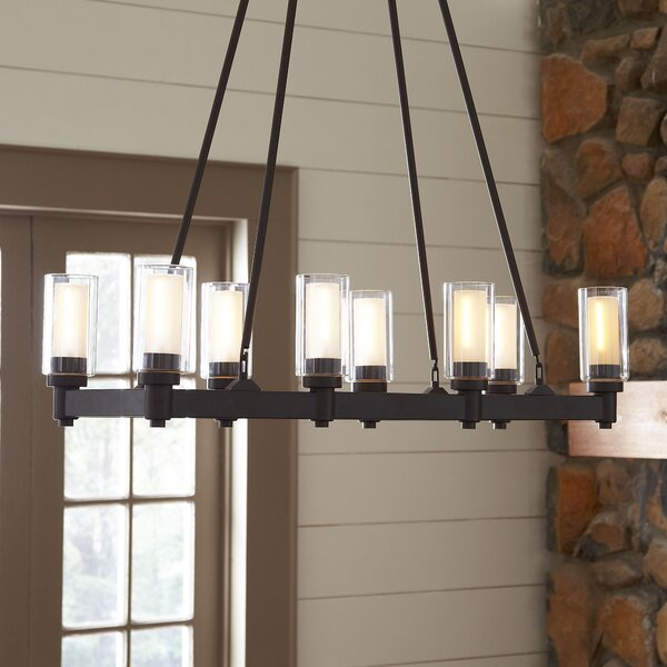 Wayfair Dining Room Lighting: Birch Lane Gramercy 8-Light Rectangular Chandelier
