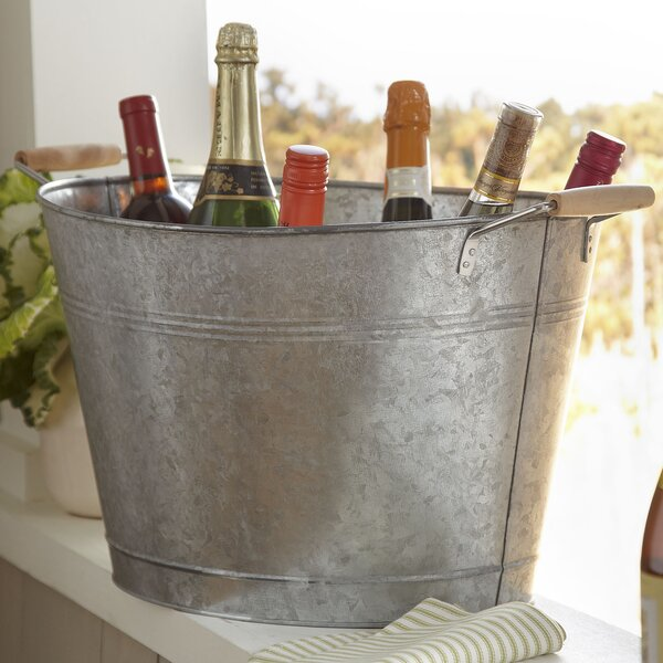 Birch Lane Galvanized Beverage Tub