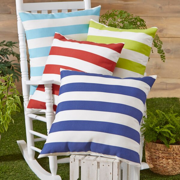 Dion Striped Outdoor Pillow