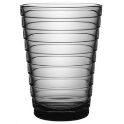 <strong></strong> Aino Aalto Tall Tumbler in Grey by iittala (Set of 2)