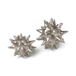 <strong>DwellStudio</strong> Urchin Matte Silver Objet