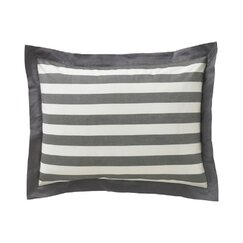 Graphic Stripe Ink Standard Shams