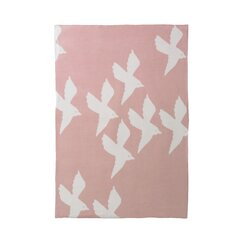 <strong>DwellStudio</strong> Birds Petal Graphic Knit Blanket