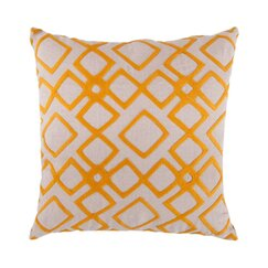 <strong></strong> Kyoto Trellis Citrine Pillow