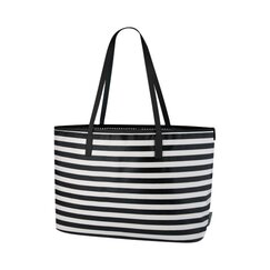 <strong>DwellStudio</strong> Mini Stripe Ink Madison Diaper Bag