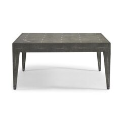 <strong>DwellStudio</strong> Klein Grey Shagreen Coffee Table