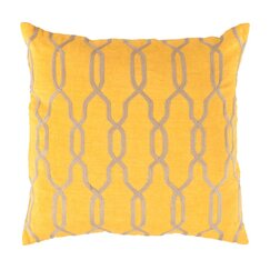<strong>Printed Trellis Pillow</strong>