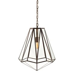 <strong>DwellStudio</strong> Edmond 1 Light Foyer Pendant