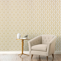 <strong>DwellStudio</strong> Twist Citrine Wallpaper