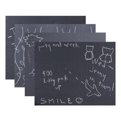 Chalkboard Wall Decal (Set of 4)