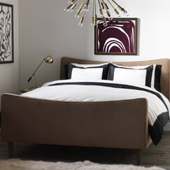 <strong></strong> Modern Border Ink Duvet Cover