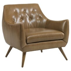 <strong>DwellStudio</strong> Channing Leather Chair