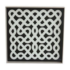 <strong></strong> Labyrinth Lacquered Wood Tray