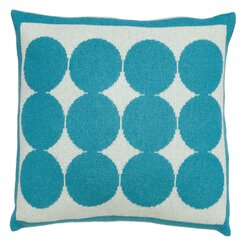 <strong></strong> Graphic Dot Azure Pillow