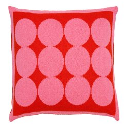 <strong></strong> Graphic Dot Spice & Orchid Pillow
