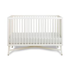 <strong></strong> Mid-Century French White Crib