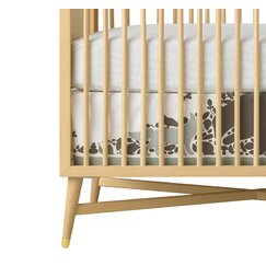 <strong></strong> Woodland Tumble Canvas Crib Skirt