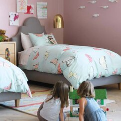 <strong></strong> Butterfly Duvet Set