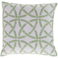 <strong></strong> Celtic Trellis Celery Outdoor Pillow