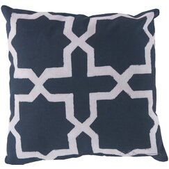 <strong>DwellStudio</strong> Madurai Navy Outdoor Pillow