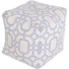 <strong>Trellis Marine Pouf</strong>